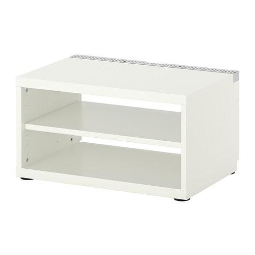 ikea tv regal wei tv bank hifi rack tv schrank. Black Bedroom Furniture Sets. Home Design Ideas