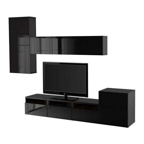 ikea wohnwand selber zusammenstellen. Black Bedroom Furniture Sets. Home Design Ideas