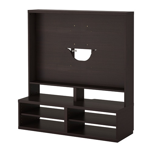 BESTÅ TV-Möbel - schwarzbraun - IKEA
