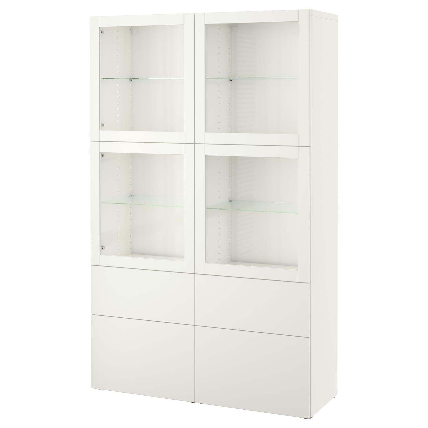 BESTÅ | Wohnzimmer > Vitrinen > Standvitrinen | Papier | IKEA