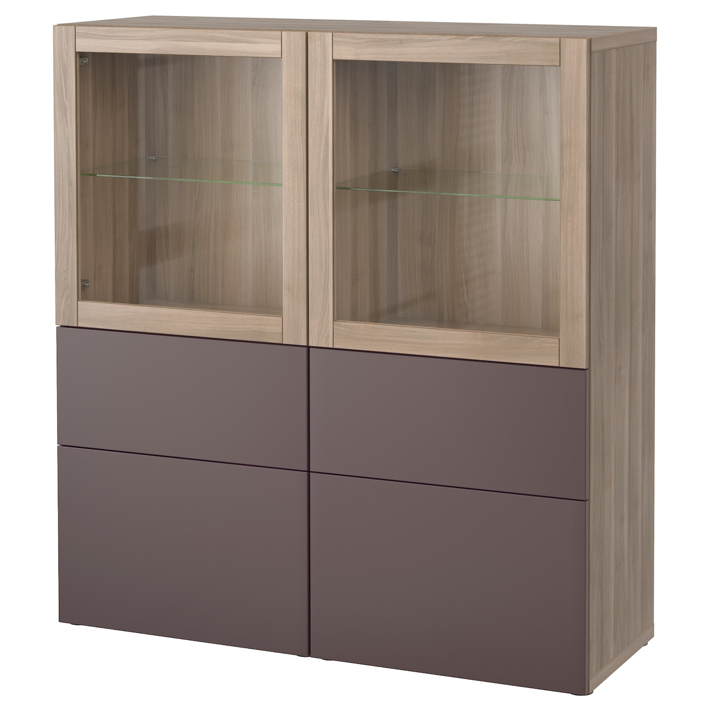BESTÅ | Wohnzimmer > Vitrinen | Grau | Papier | IKEA