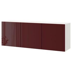 Farbe: Weiß selsviken/hochglanz dunkel rotbraun.