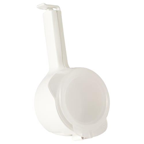 BEVARA Verschluss-/Ausgussklemme weiß 12 cm 1 Stück