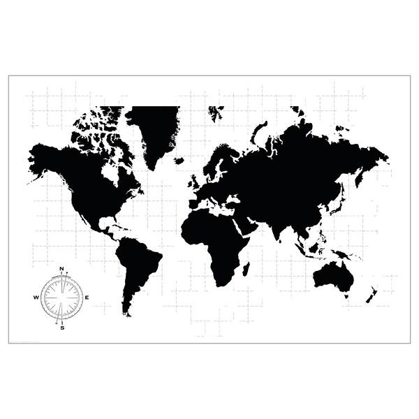 Bild Bild Weltkarte Weltkarte Ikea Deutschland