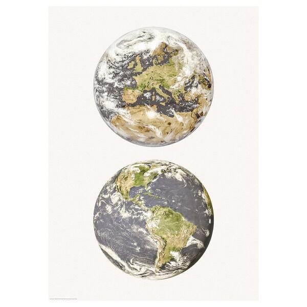 BILD Bild Erde 50 cm 70 cm 1 Stück