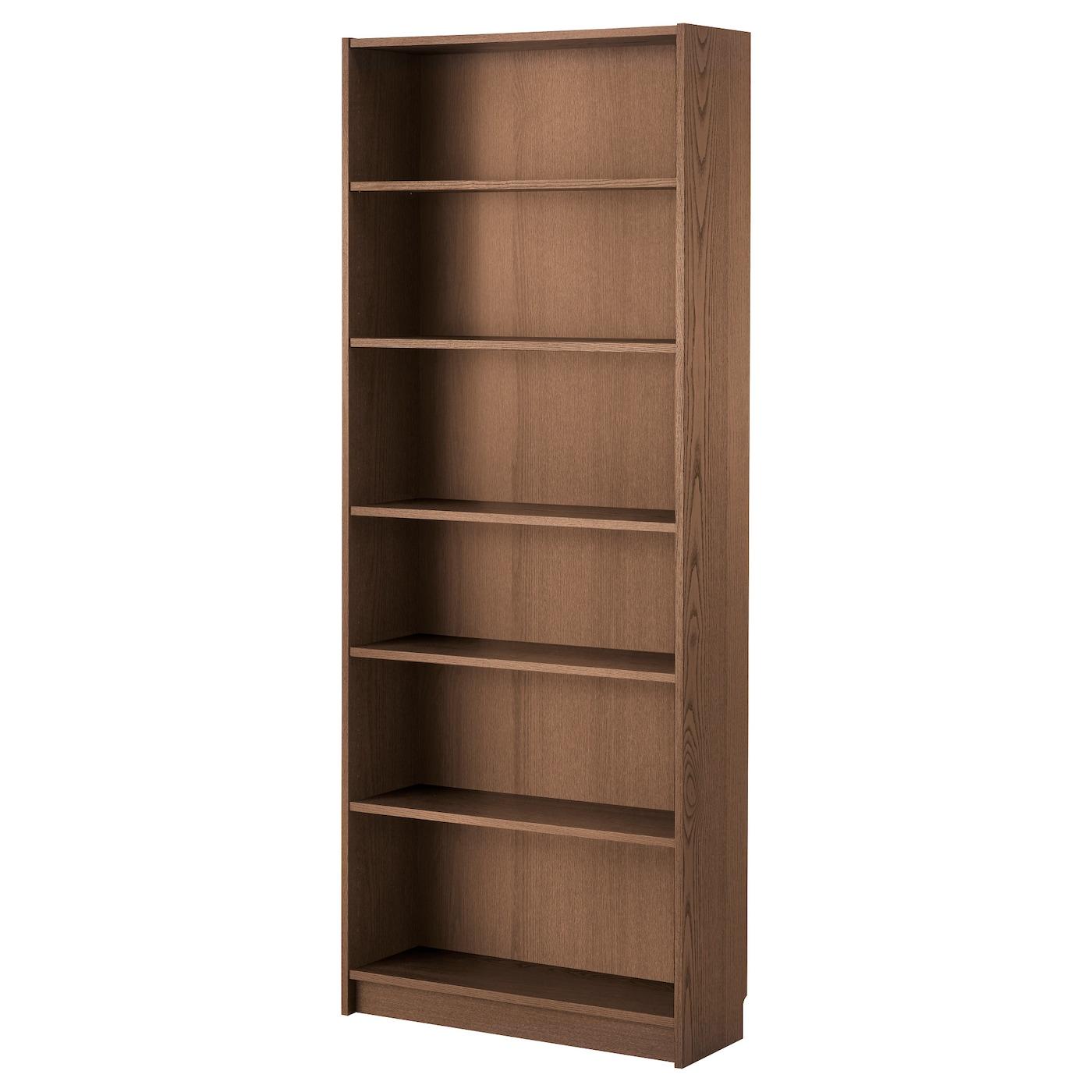 Ikea Billy Regal Bücherregal 80 x 28 x 202 cm braun in
