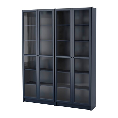 billy b cherregal dunkelblau 160x202x30 cm ikea. Black Bedroom Furniture Sets. Home Design Ideas