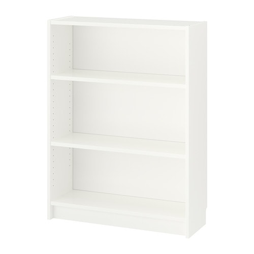 Billy b cherregal wei ikea - Mueble libreria ikea ...