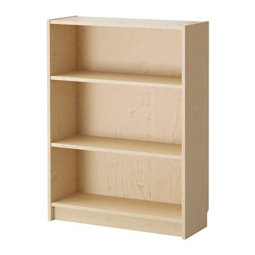 ikea billy b cherregal birkenfurnier 0 00 g nstiger bei. Black Bedroom Furniture Sets. Home Design Ideas