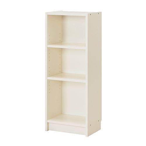 BILLY Bücherregal, weiß Breite: 40 cm Tiefe: 28 cm Höhe: 106 cm max. Belastung/Regalboden: 15 kg