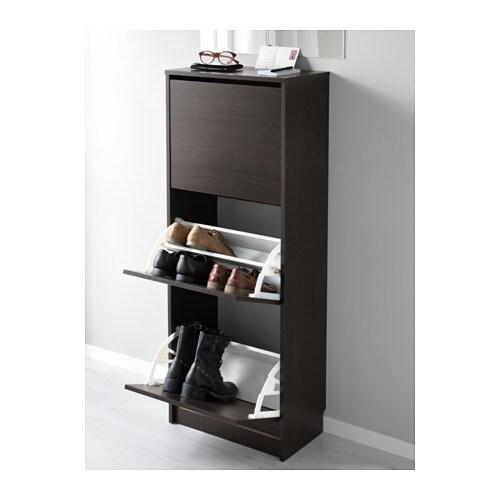 Schuhschrank ikea bissa  BISSA Schuhschrank 3 Fächer - IKEA