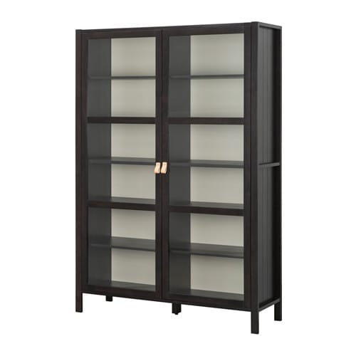bj rksn s vitrine 2 t rig ikea. Black Bedroom Furniture Sets. Home Design Ideas