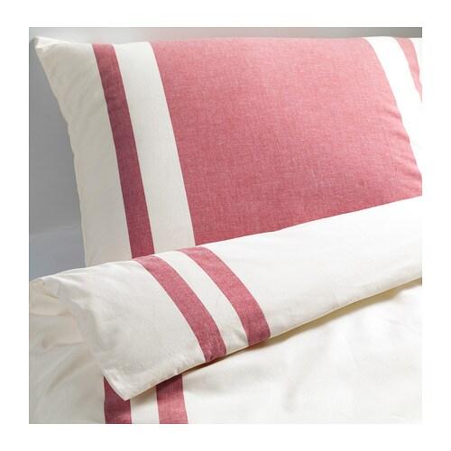 bj rnloka bettw scheset 2 teilig 140x200 80x80 cm ikea. Black Bedroom Furniture Sets. Home Design Ideas