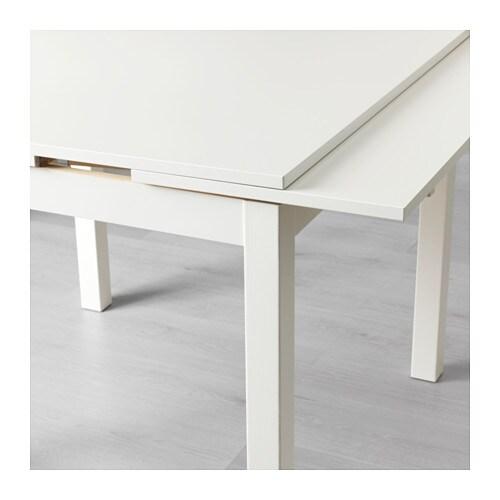 Ausziehtisch weiß  BJURSTA Ausziehtisch - weiß - IKEA