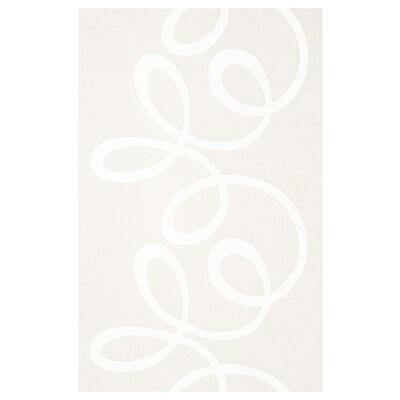 BLÅBUSKE Schiebegardine, weiß, 60x300 cm