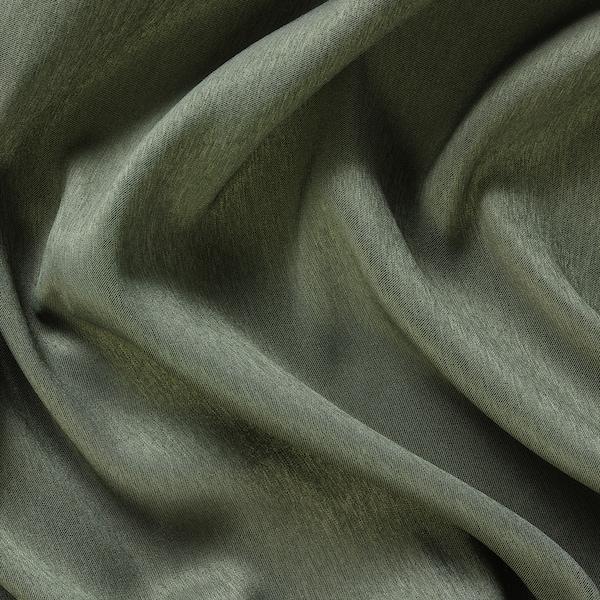 BLÅHUVA 2 Gardinenschals (verdunk.), grün, 145x300 cm