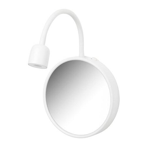 Ikea Wandleuchte blåvik wandleuchte mit spiegel led ikea