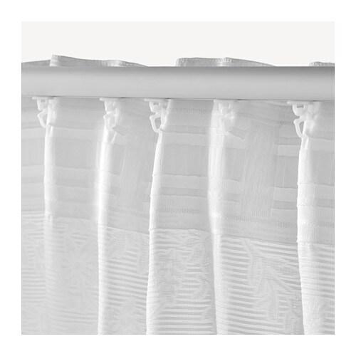Gardinen Stopper Ikea : ikea blekviva 2x gardinenstore wei je 145x300cm vorhang ~ Watch28wear.com Haus und Dekorationen