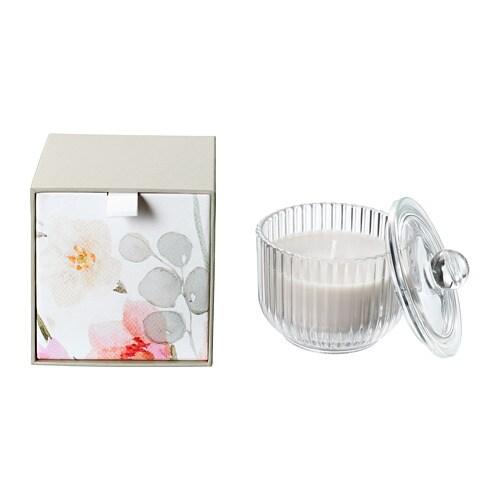 blomdoft duftkerze im glas ikea. Black Bedroom Furniture Sets. Home Design Ideas