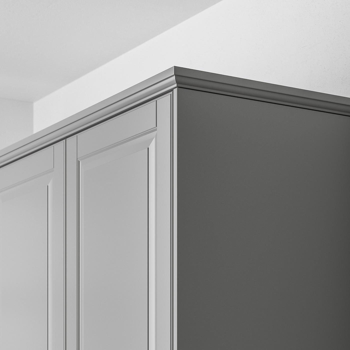 Bodbyn Dekorleiste Profiliert Grau Ikea Deutschland