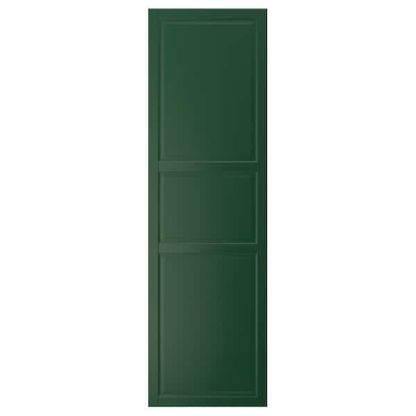BODBYN Tür dunkelgrün 59.7 cm 200.0 cm 60.0 cm 199.7 cm 1.9 cm