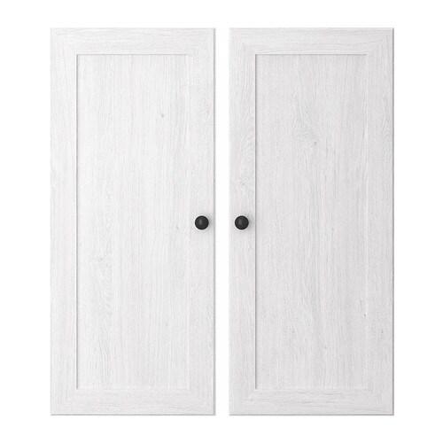 Ikea Türen ikea borgsjö tür weiß 12 01 günstiger bei koettbilligar de