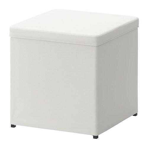 Hocker mit stauraum ikea  BOSNÄS Hocker mit Aufbewahrung - Ransta weiß - IKEA