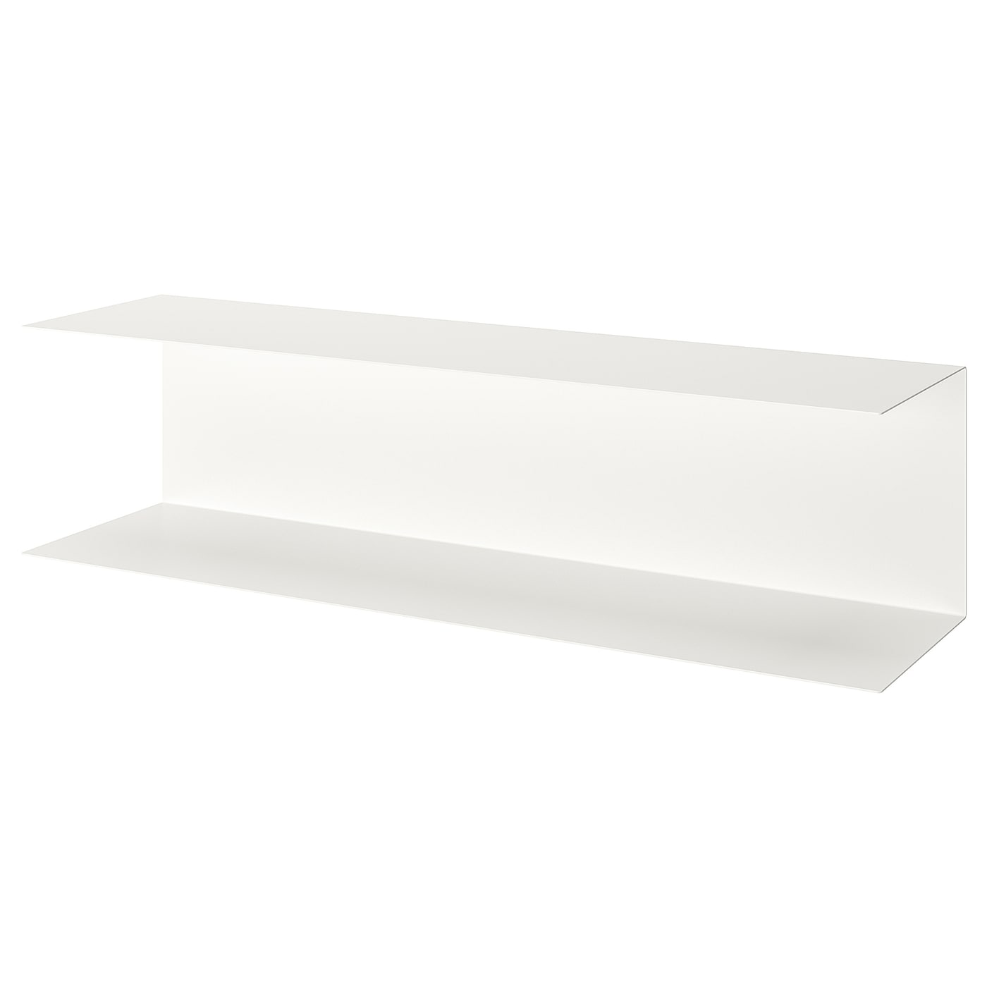 BOTKYRKA Wandregal - weiß 80x20 cm