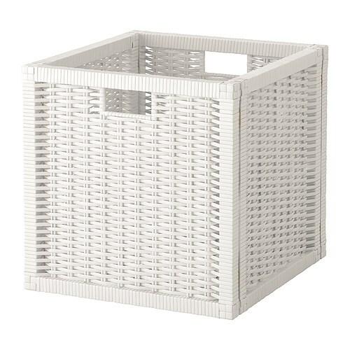 Branäs Korb Weiß Ikea