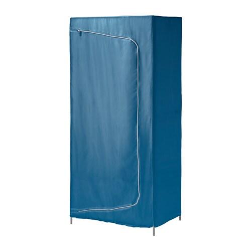 BREIM Kleiderschrank - blau - IKEA