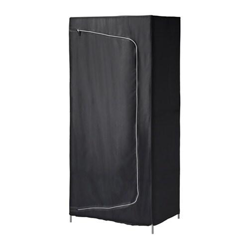 Breim Kleiderschrank Schwarz Ikea