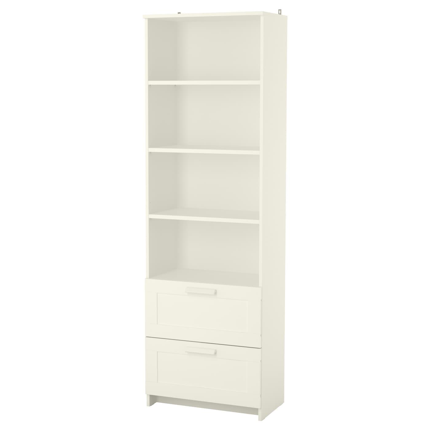 BRIMNES, Bücherregal, weiß 903.012.25
