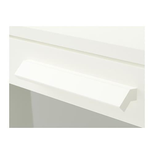 BRIMNES Kommode mit 4 Schubladen IKEA Leichtgängige Schubladen mit ...