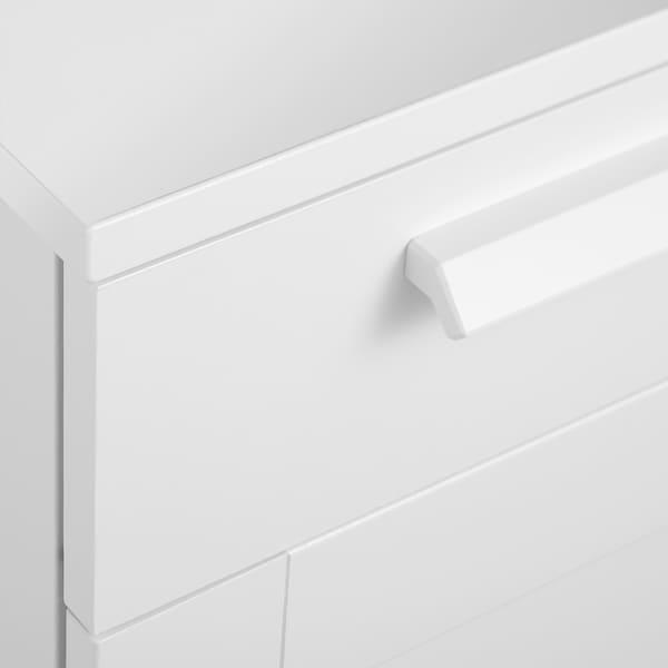 BRIMNES Schubladenelement auf Rollen, weiß, 35x68 cm