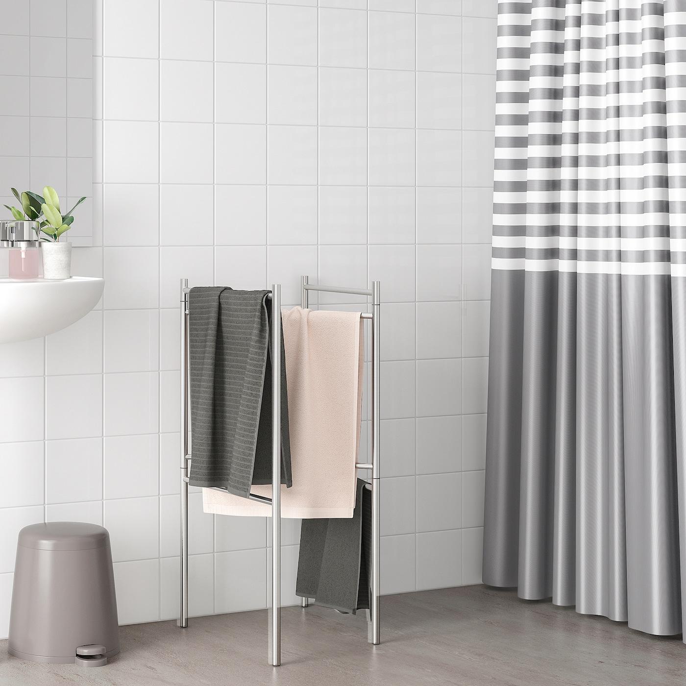 BROGRUND Handtuchständer, ausziehbar, Edelstahl