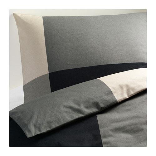 brunkrissla bettw scheset 2 teilig 140x200 80x80 cm ikea. Black Bedroom Furniture Sets. Home Design Ideas
