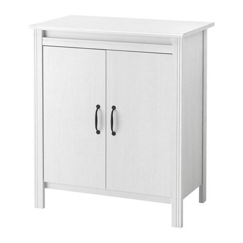 BRUSALI Schrank mit Türen - IKEA