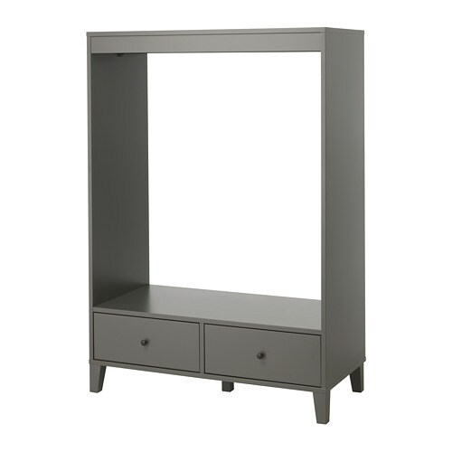 BRYGGJA Kleiderschrank, offen - IKEA