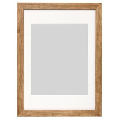 DALSKÄRR Rahmen, Holzeffekt/hellbraun, 50x70 cm