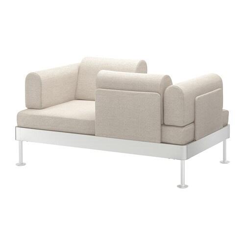 DELAKTIG 2er-Sofa - Gunnared beige - IKEA