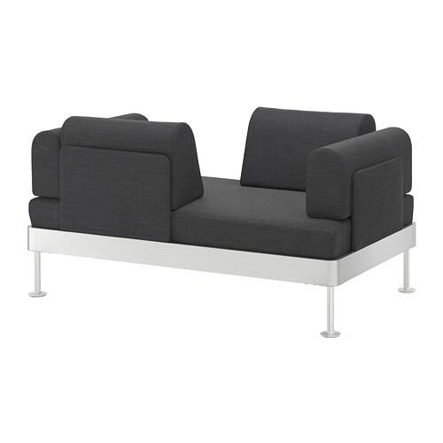 Delaktig 2er Sofa Hillared Anthrazit Ikea
