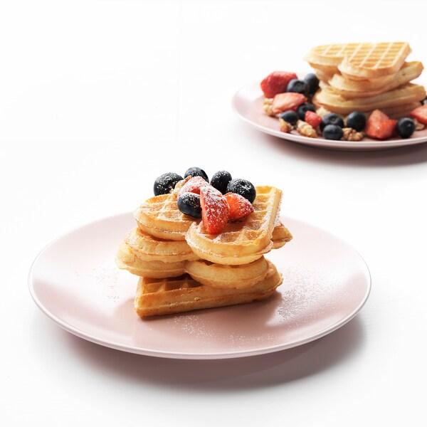 DINERA Dessertteller, hellrosa, 20 cm