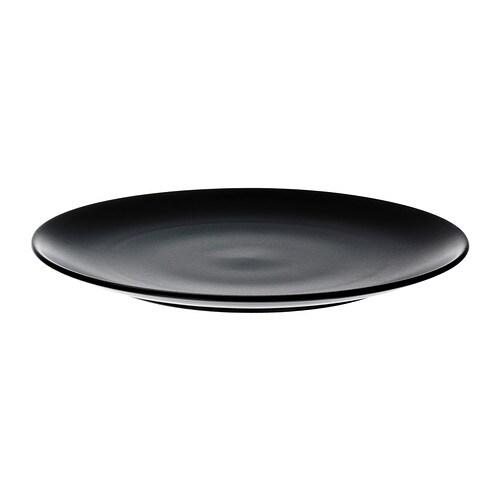 IKEA DINERA Teller - schwarz 0,00% günstiger bei ...