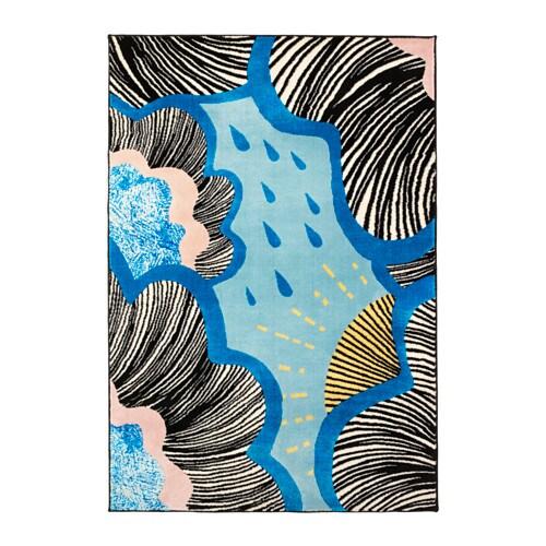 Teppich ikea blau  DOFTRANKA Teppich Kurzflor - IKEA