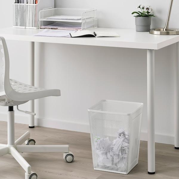 DRÖNJÖNS Papierkorb weiß 26 cm 26 cm 35 cm