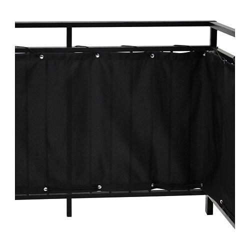 Dyning Sichtschutz Balkon Schwarz Ikea