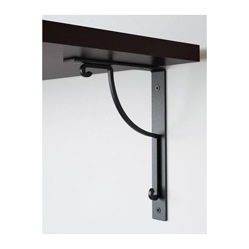 Ikea wandregal schwarz  EKBY JÄRPEN / EKBY HÅLL Wandregal - IKEA