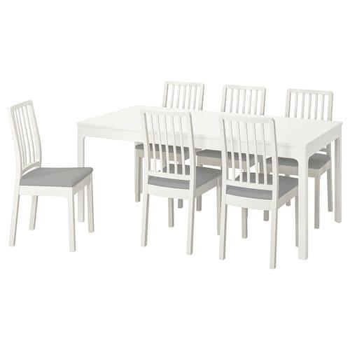 IKEA EKEDALEN / EKEDALEN Tisch und 6 stühle