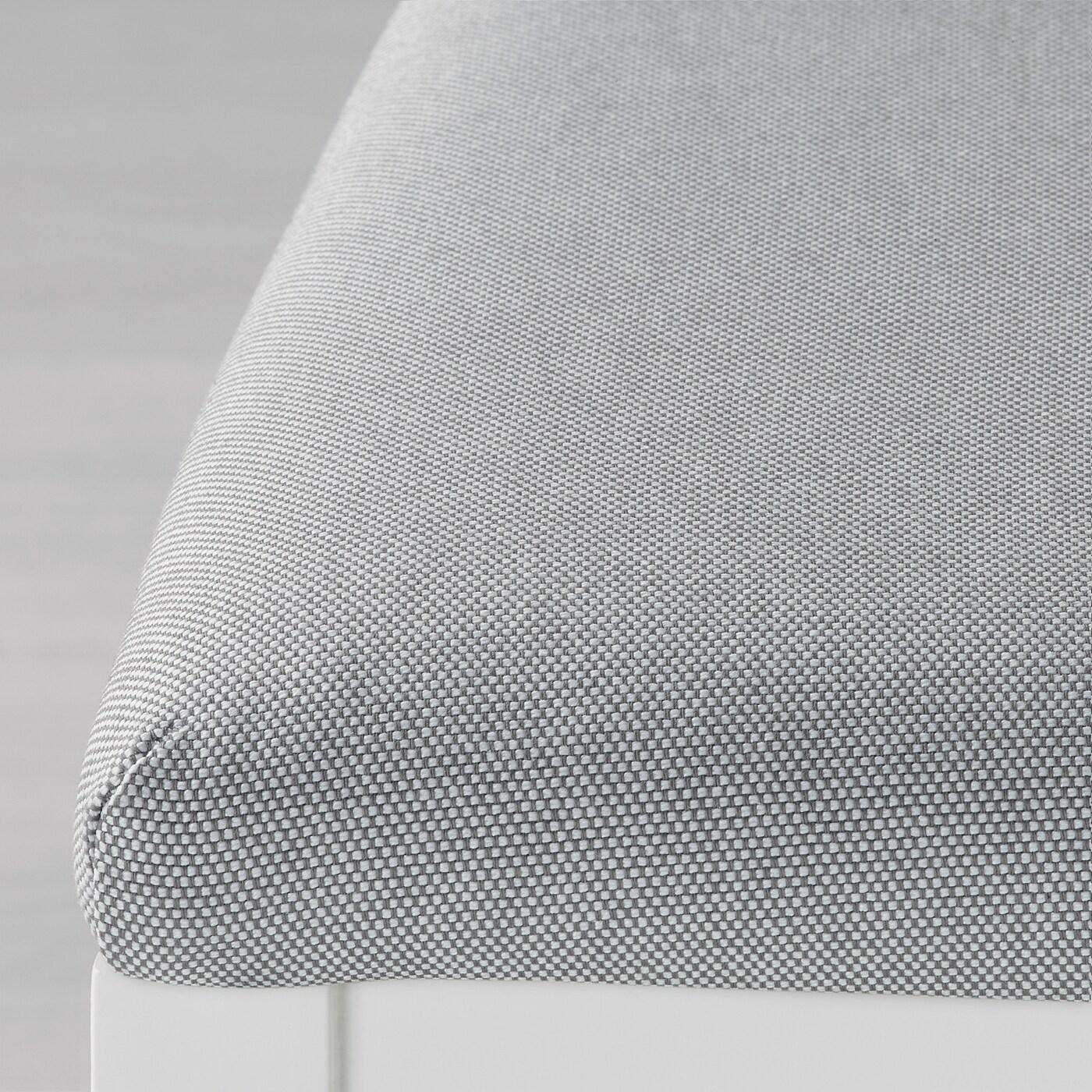 EKEDALEN Tisch und 2 Stühle weißOrrsta hellgrau IKEA