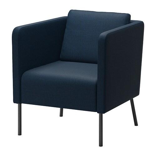 eker sessel skiftebo dunkelblau ikea. Black Bedroom Furniture Sets. Home Design Ideas